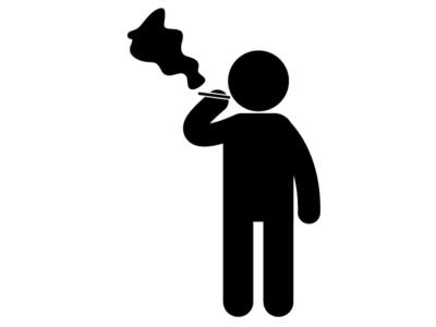 禁煙のピクトグラム